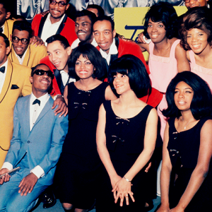Motown artist group photo.