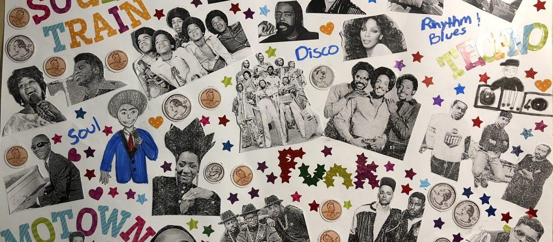 Gabrielle Brim's Music Poster (60s - 90s)